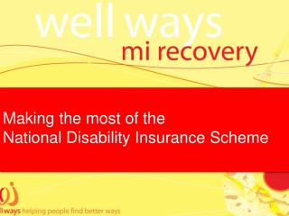 Making the most of the  National Disability Insurance Scheme