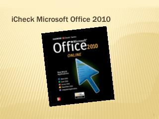 i Check Microsoft Office 2010
