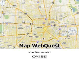 Map  WebQuest