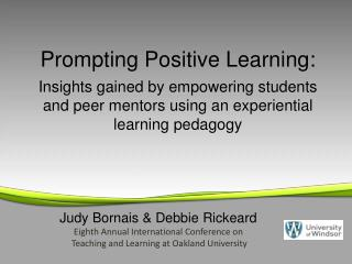 Prompting Positive Learning: