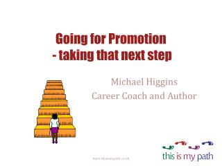 Going for Promotion  - taking that next step