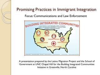 Promising Practices in Immigrant Integration