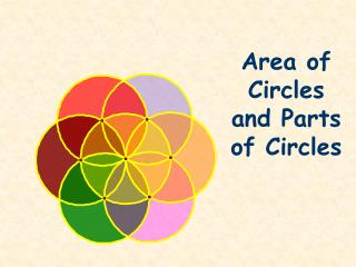 Area of Circles and Parts of Circles