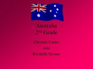 Australia 2nd Grade