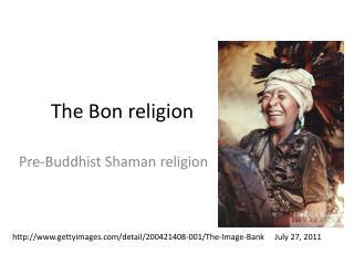 The Bon religion