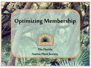 Optimizing Membership