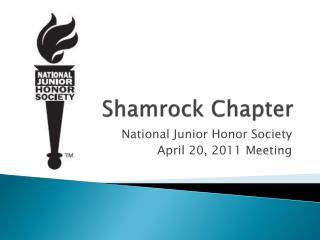 Shamrock Chapter