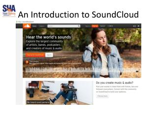 An Introduction to SoundCloud