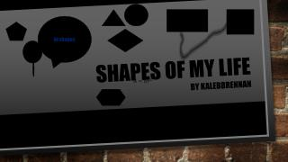 Shapes of my life