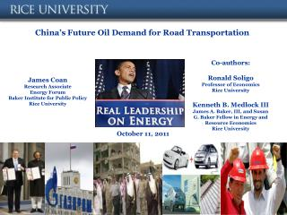 China's Future Oil Demand for Road Transportation