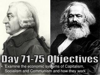 Examine the economic systems of Capitalism, Socialism and Communism and how they work