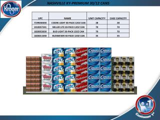 NASHVILLE KY-PREMIUM 30/12 CANS