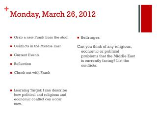 Monday, March 26, 2012