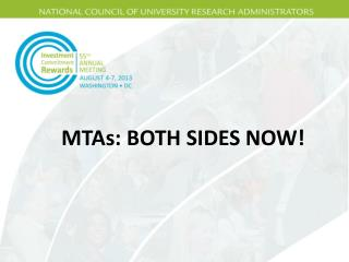 MTAs: BOTH SIDES NOW!