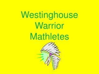 Westinghouse Warrior Mathletes