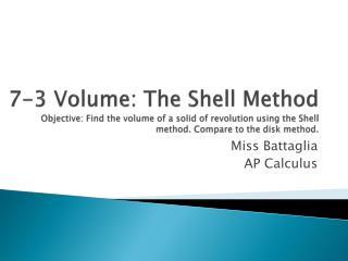 Miss  Battaglia AP Calculus