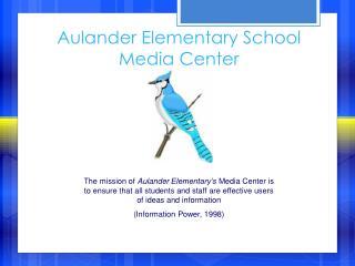 Aulander Elementary School Media Center