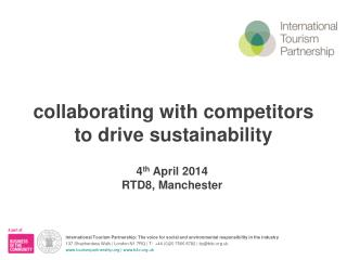 collaborating with competitors to drive sustainability