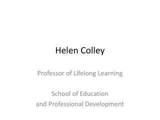 Helen Colley
