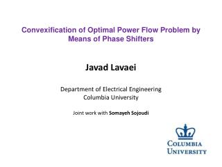 Convexification of Optimal Power Flow Problem by Means of Phase  Shifters