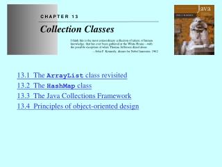 Chapter 13 Collection Classes