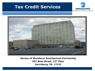Tax Credit Services
