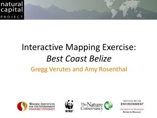 Interactive Mapping Exercise: Best Coast Belize