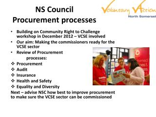 NS Council  Procurement processes