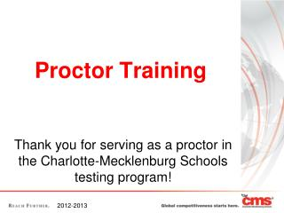 Proctor Training