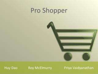 Huy DaoRoy  McElmurry Priya Vaidyanathan