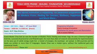 Venue :-   ABC HALL ,   Date :-   27 th June 2014 Timings :-   1400 Hrs. to 1530 hrs.  (Friday)