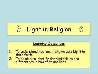 Light in Religion