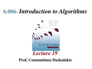 6.006-  Introduction to Algorithms
