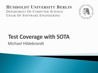 Test Coverage with SOTA
