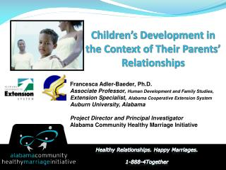 Children's Development in the Context of Their Parents' Relationships
