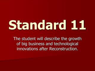 Standard 11