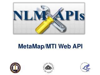 MetaMap /MTI Web API
