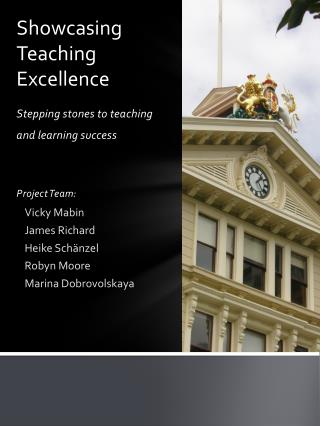 Showcasing  Teaching  Excellence
