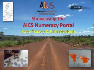 Showcasing the  AICS Numeracy Portal Kaye Treacy & Kim McHugh