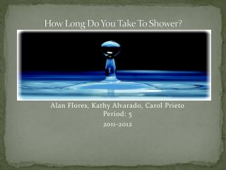 How Long Do You Take To Shower?