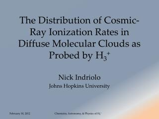 The Distribution of Cosmic-Ray Ionization Rates in Diffuse Molecular Clouds as Probed by H 3 +