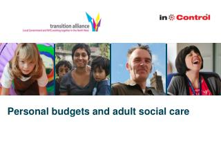 Personal budgets and adult social care