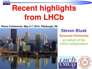 Recent highlights from LHCb