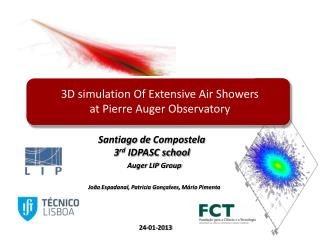 3D simulation Of Extensive Air Showers  at Pierre Auger Observatory