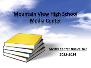 Mountain View High School  Media Center