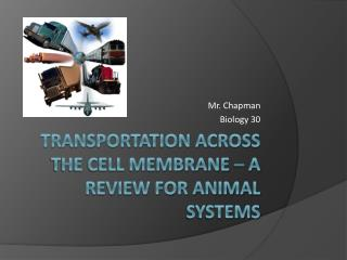 Transportation Across the Cell Membrane – A Review for Animal Systems