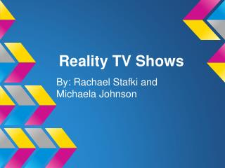 Reality TV Shows