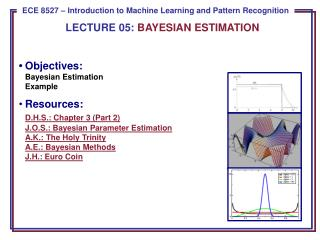 LECTURE  05:  BAYESIAN  ESTIMATION
