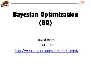 Bayesian Optimization (BO)