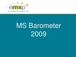 MS Barometer 2009
